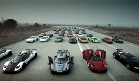 Dân chơi Trung Quốc và 'cuộc đua siêu xe' - ảnh 1