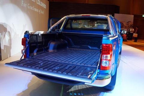 Cận cảnh Chevrolet Colorado LTZ - ảnh 13
