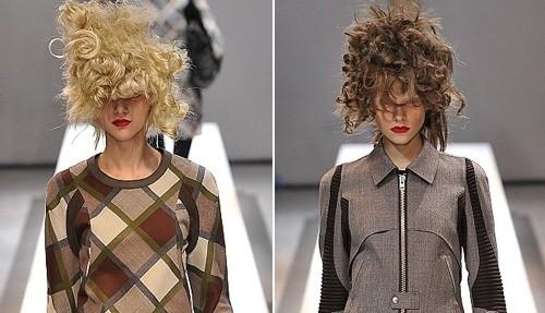 Những kiểu tóc 'nổi loạn' trên sàn catwalk Paris - ảnh 8