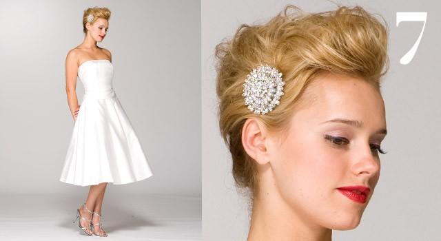 Mười kiểu tóc cô dâu 'hot' năm 2011 - ảnh 6