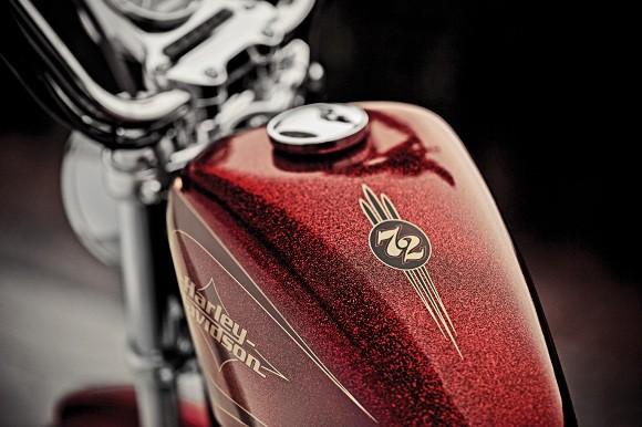 Cận cảnh Harley-Davidson XL883L Seventy-Two - ảnh 7