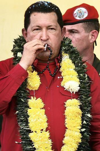 Tổng thống Hugo Chavez thăm Bolivia năm 2007