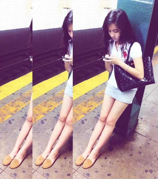 Đa phong cách cùng hot girl Mie Nguyen - ảnh 4