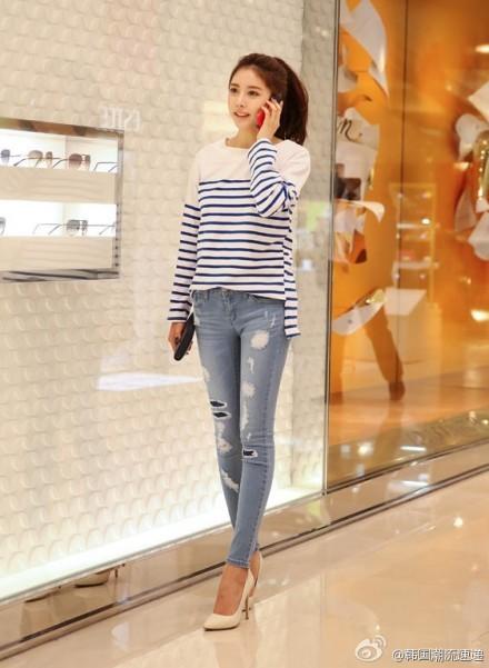 Cuối tuần xuống phố cực chất với quần jeans - ảnh 19