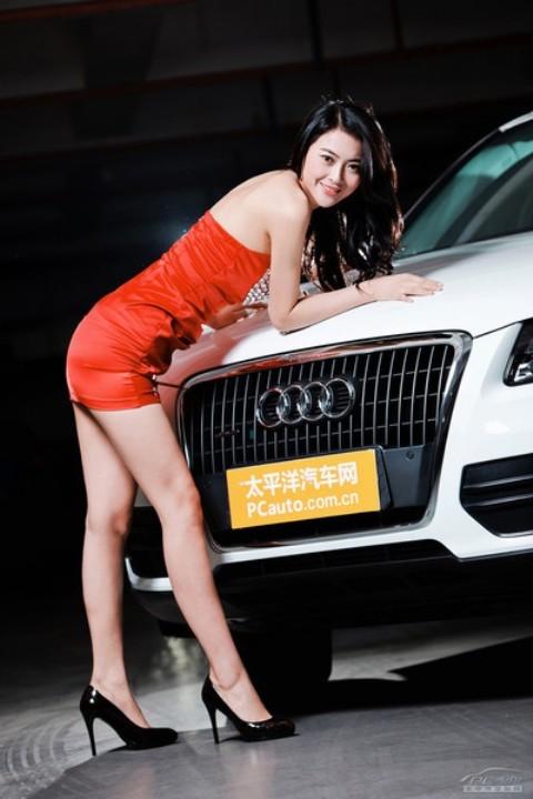 Chân dài đọ nhan sắc với xế hộp Audi - ảnh 8