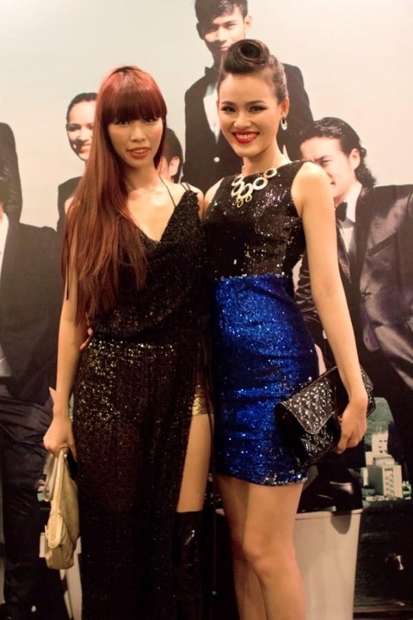Hà Anh và Tuyết Lan vẫn thân mật khi cùng dự một event hồi đầu năm