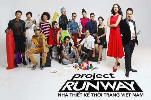 12 thí sinh vào vòng bán kết Project Runway Vietnam