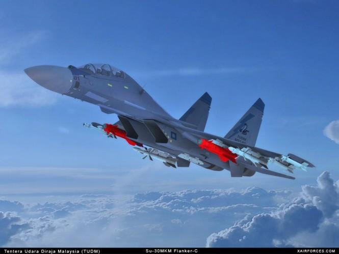 Su-30MKM của Không quân Hoàng gia Malaysia