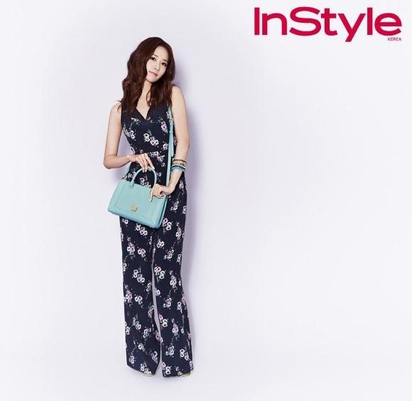 YoonA phong cách trên tạp chí InStyle - ảnh 6