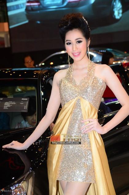 Nhan sắc ngập tràn triển lãm Bangkok 2013 - ảnh 22