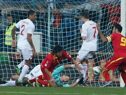 Để Montenegro ghi bàn ở phút 76, tuyển Anh đành chấp nhận kết quả hòa 1-1. Ảnh: Reuters