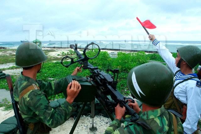 Rèn quân, sẵn sàng chiến đấu bảo vệ Trường Sa - ảnh 11