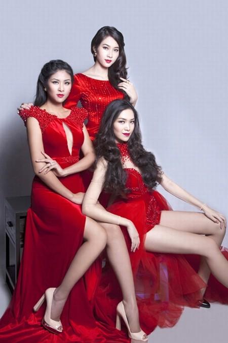 Dàn hoa hậu Việt Nam đọ sắc - ảnh 6