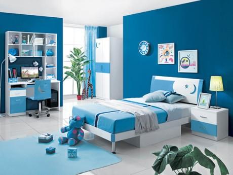 Nội thất xanh dương cho nhà mát lạnh - ảnh 1