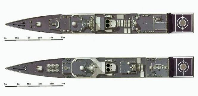 'Nội soi' tham vọng khu trục hạm Trung Quốc - ảnh 11