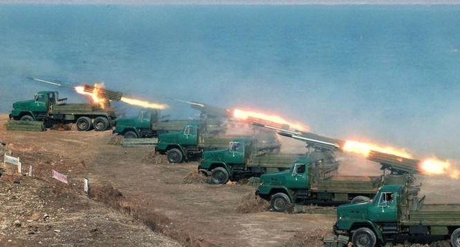 Ảnh mới nhất về cuộc tập trận của Triều Tiên - ảnh 11