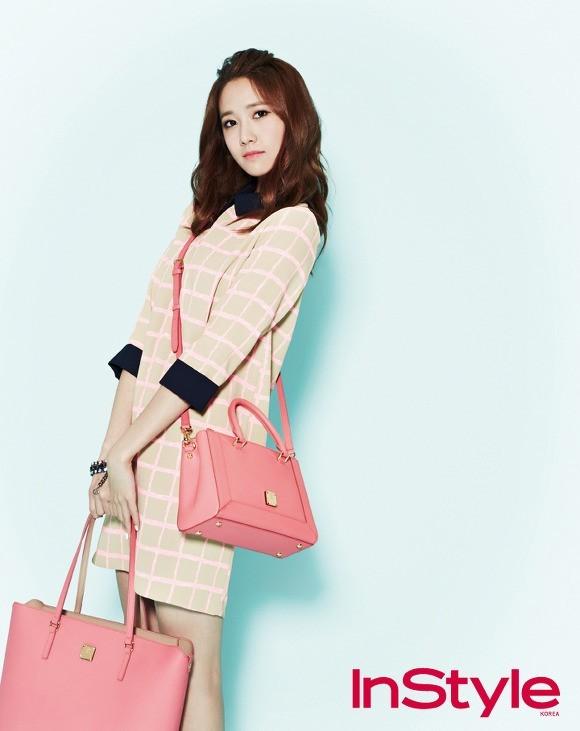 YoonA phong cách trên tạp chí InStyle - ảnh 5