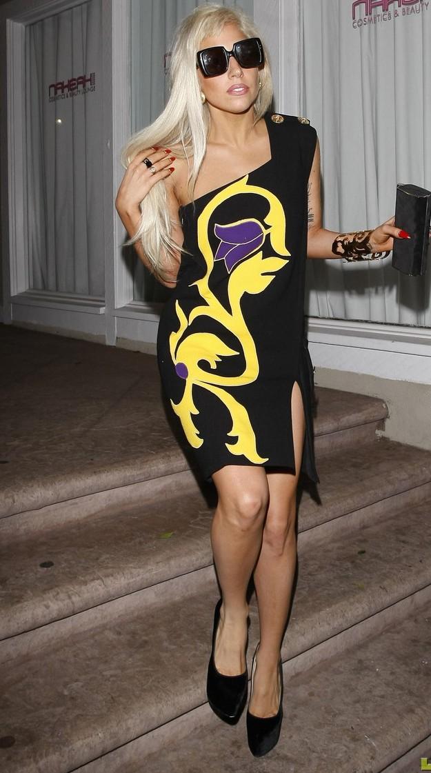 Lady Gaga cũng có lúc điệu đà và nữ tính