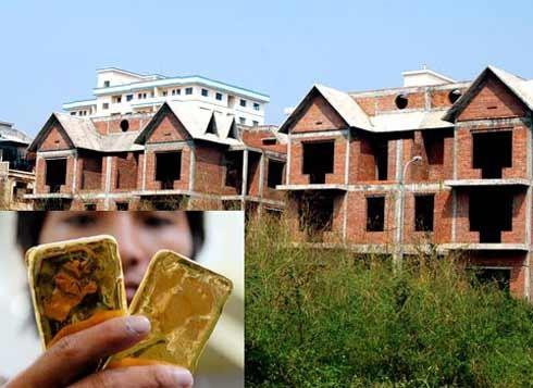 Nhiều người dân TP HCM hiện nay vẫn hay dùng vàng để hoá giá nhà khi mua bán