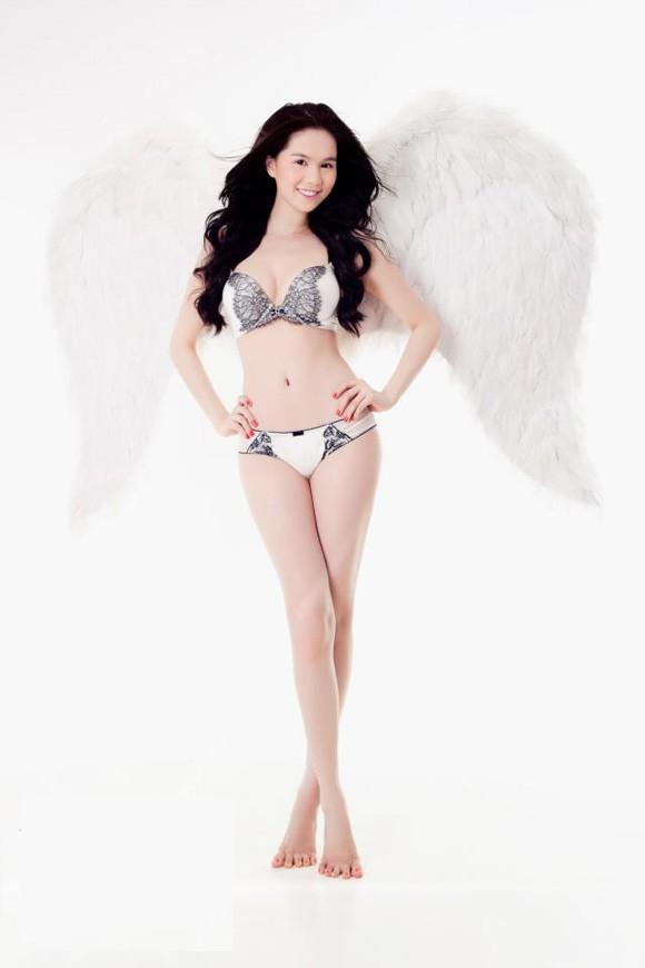 Ngọc Trinh 'mọc cánh' thiên thần và ác quỷ - ảnh 7