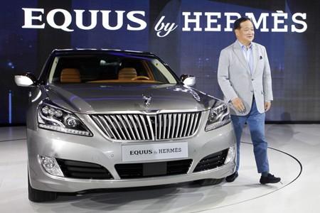 Đẳng cấp thời trang Hermes trên Hyundai Equus - ảnh 3