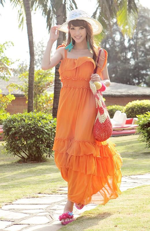 Váy maxi tung tăng đón nắng hè - ảnh 15