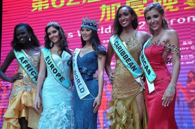 Hoa hậu đẹp nhất TG 2012: 'Cái nết đánh chết cái đẹp' - ảnh 3