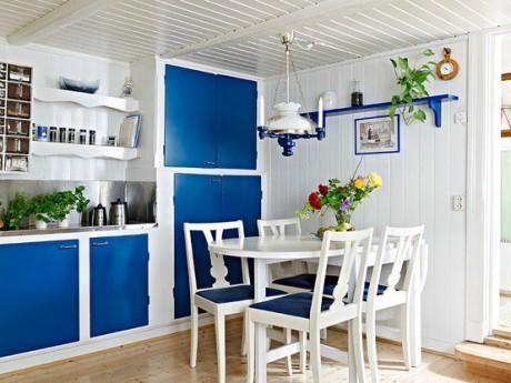 Nội thất xanh dương cho nhà mát lạnh - ảnh 13