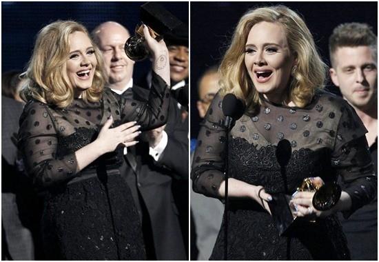 Adele – Nữ hoàng Grammy 2012 - ảnh 5
