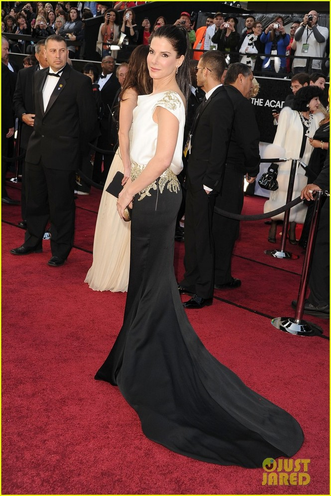 Dàn sao 'bự' đổ bộ thảm đỏ Oscar 2012 - ảnh 24