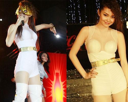 Sao Việt: Mốt áo mỏng khoe ngực khủng - ảnh 16