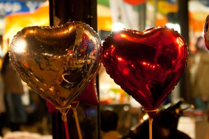 Valentine ngập tràn những con phố - ảnh 10