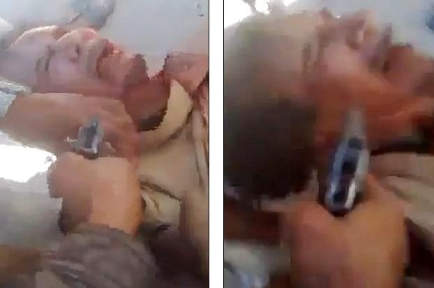 Xuất hiện video ông Gaddafi bị bắn vào đầu - ảnh 4