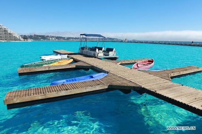 Chiêm ngưỡng bể bơi 'khủng' nhất thế giới - ảnh 1