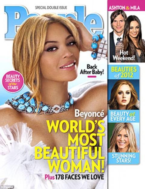 Beyonce được tạp chí People vinh danh là Người đẹp nhất thế giới năm 2012