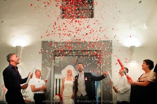 Không gì có thể ngăn được đám cưới của Francesca và Fabio