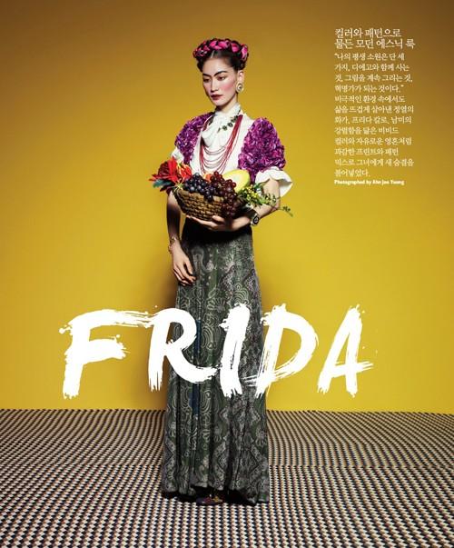 Sắc đẹp châu Á 'ngọt lịm' trên Singles Hàn Quốc - ảnh 10