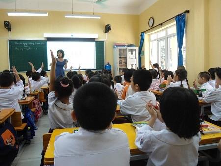 Hà Nội khẳng định lo đủ chỗ học cho học sinh các cấp học.