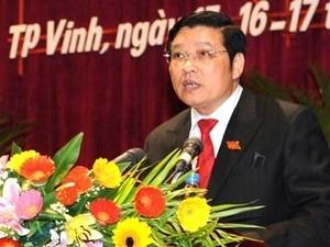 Ông Phan Đình Trạc. (Nguồn: Báo điện tử Đảng cộng sản)