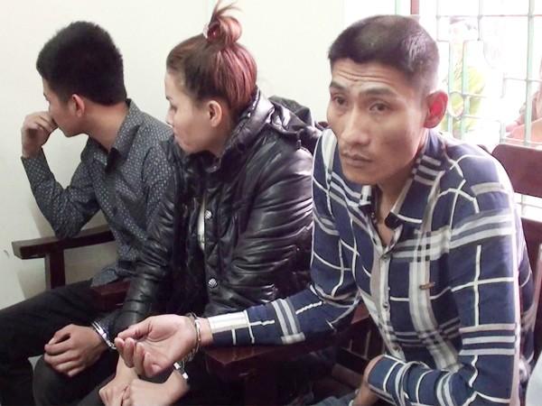 Một số đối tượng bị bắt vì ma túy đá
