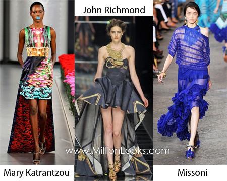 Xu hướng thời trang váy xuân hè năm 2012 - ảnh 9