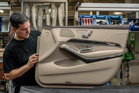 'Ngó' nội thất siêu sang của Mercedes S-Class 2014 - ảnh 10