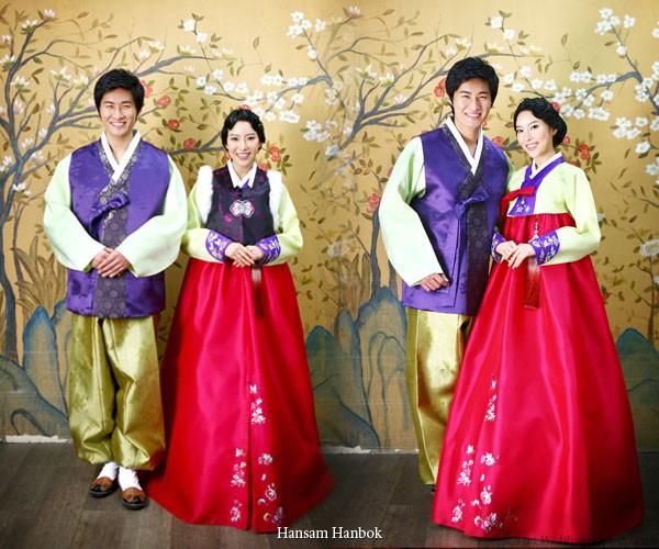 Quyến rũ trang phục cưới Hanbok hiện đại - ảnh 2