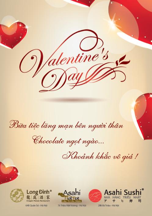 Valentine ngọt ngào tại Long Đình và Asahi - ảnh 1