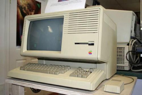 Chiếc máy tính Apple Lisa.