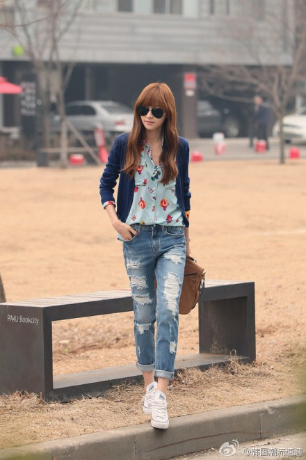 Cuối tuần xuống phố cực chất với quần jeans - ảnh 11