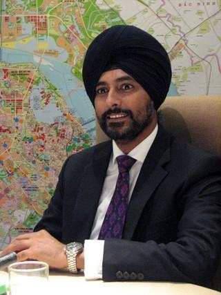 Ông Arsh Chaudhry, Giám đốc điều hành khu vực Đông Nam Á, Công ty bất động sản Mỹ Cushman&Wakefield