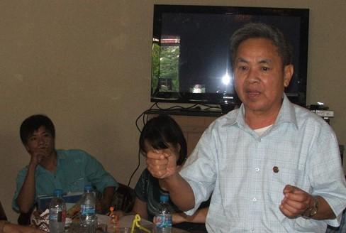 Cư dân Keangnam bức xúc trước việc thu phí và quản lý dịch vụ tại toà nhà. Ảnh: M.T
