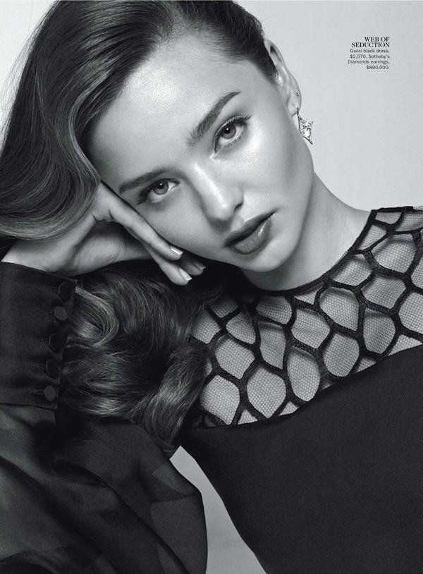 'Thiên thần' Miranda Kerr nóng bỏng trên Vogue - ảnh 8