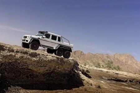 Cận cảnh xe địa hình khủng của Mercedes-Benz - ảnh 3